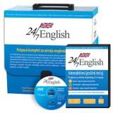 24/7 English - interaktivni tečaj, potpuni komplet za učenje engleskog jezika