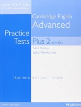 Cambridge Advanced Practice Tests Plus New Edition Students Book with Key
