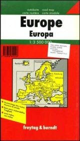 Auto karta - Evropa