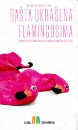 Bašta ukrašena flamingosima