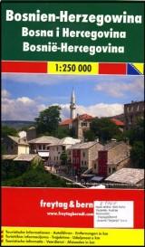Auto + turistička karta Bosne i Hercegovine