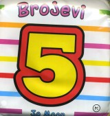 Brojevi - knjižica sa zvečkom