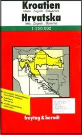 Auto karta: Hrvatska