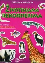 Čudesna knjiga o...Životinjama rekorderima sa mnogo naljepnica