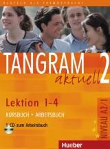 Tangram aktuell 2 - Lektion 1-4 (A2/1), Kursbuch + Arbeitsbuch mit Audio-CD zum Arbeitsbuch