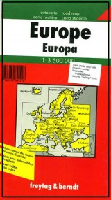 Auto karta: Evropa