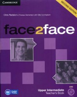Face2face Upper Intermediate, Teachers Book + DVD  - Second Edition