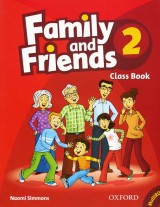 Family and Friends 2 Class Book + Audio CD