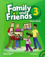 Family and Friends 3 Class Book + Audio CD