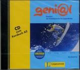 Genial Kursbuch A2 - CD Deutsch als Fremdsprache fur Jugendliche. (Lernmaterialien) [Audio CD]