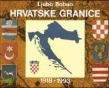 Hrvatske granice 1918. - 1993.
