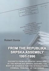 Iz Skupštine Republike Srpske 1991-1996.