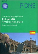 PONS Klik po klik - Španjolski jezik, interaktivni tečaj za početnike
