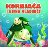 Kornjača i njeno mladunče - Knjiga za kupanje