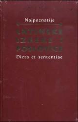 Latinske izreke i poslovice - Dicta et sententiae