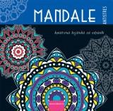 Mandale: Kreativna bojanka za odrasle: plava