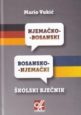 Njemačko - bosanski i bosansko - njemački školski rječnik