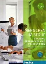 Menschen im Beruf B1/B2- Training Besprechen und Präsentieren Kursbuch mit Audio-CD
