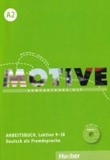 Motive A2 Arbeitsbuch mit MP3-Audio-CD - Kompaktkurs DaF, Lektion 9-18
