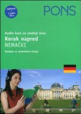 PONS Korak napred - Nemački, Audio kurs za srednji nivo