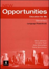 New Opportunities Elementary, Language Powerbook + CD