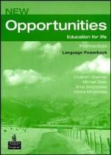 New Opportunities Intermediate, Language Powerbook + CD