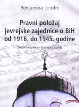 Pravni položaj jevrejske zajednice u. BiH od 1918. do 1945. godine