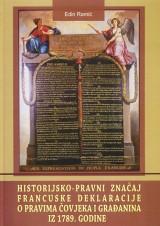 Historijsko-pravni značaj Francuske deklaracije o pravima čovjeka iz 1789. godine