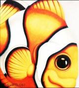 Slikovnice likovi životinja: Riba, morski klovn