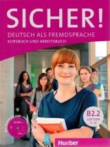 Sicher B2.2. Kursbuch und Arbeitsbuch mit Audio-CD,  7-12 lektion