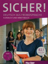 Sicher B2.1 Kursbuch und Arbeitsbuch mit Audio-CD zum Arbeitsbuch, 1-6 lektion