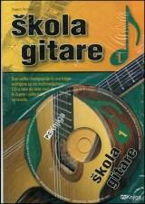Škola gitare + Multimedijalni CD 1
