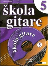 Škola gitare + Multimedijalni CD 5