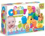 Baby Clemmy Dinozorlar - 12 Soft Blocks