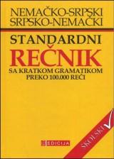 Nemačko-srpski, srpsko nemački standardni rečnik sa gramatikom - školski