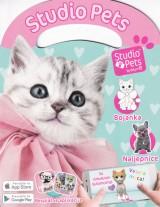 Studio Pets - Maca bojanka, naljepnice