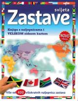 Zastave svijeta - Knjiga s naljepnicama i Velikom zidnom kartom