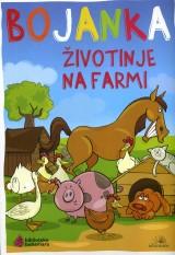 Životinje na farmi - Bojanka