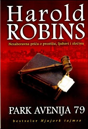 Park avenija 79 - Harold Robins  Knjiga.ba knjižara