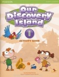 Our Discovery Island 1 Tropical Island Activity Book with CD-ROM
