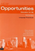 Opportunities Global Elementary Language Powerbook Pack