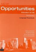 Opportunities Global Elementary Language Powerbook Pack