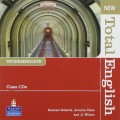 New Total English Intermediate Class Audio CD