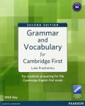 Grammar and Vocabulary for FCE with Key + Access to Longman Dictionaries Online