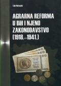 Agrarna reforma u BiH i njeno zakonodavstvo 1918 - 1941