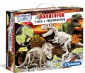 Archeofun Glow in The Dark T-Rex & Triceratops 2 in 1