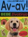 Av-av! Bebe životinja - Zalijepi i nauči