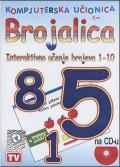 Kompjuterska učionica Brojalica: Interaktivno učenje brojeva 1-10