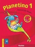 Planetino 1 Arbeitsbuch mit CD-ROM, Deutsch für Kinder