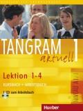 Tangram aktuell 1- Lektion 1-4 (A1/1), Kursbuch + Arbeitsbuch mit Audio-CD zum Arbeitsbuch